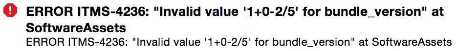 Invalid Value Arithmetics