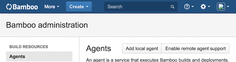 Bamboo Enable Remote Agents