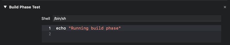 Build Phase