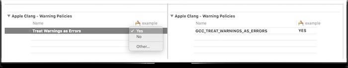 Cxx Treat Warnings as Errors